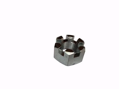 "Picture of Slotted Nut 5/8"" UNF"