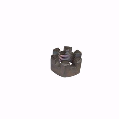 "Picture of Slotted Nut 1/2"" UNF"